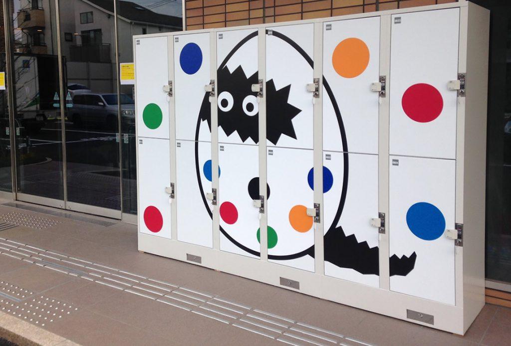 変なホテル舞浜 東京ベイ・コインロッカー装飾